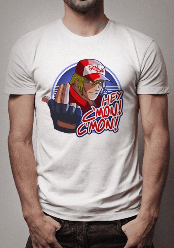 Camiseta Terry Bogard The King Of Fighters