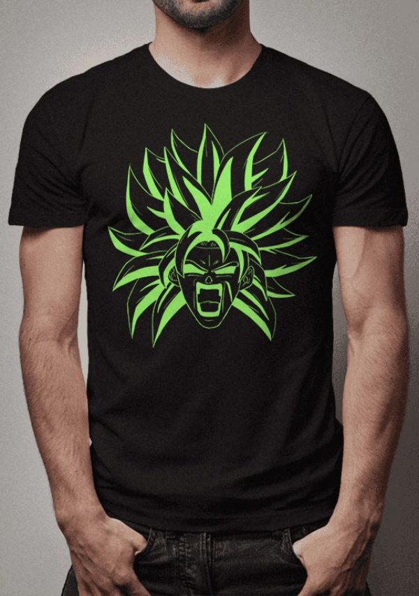 Camiseta Broly Sketch Dragon Ball