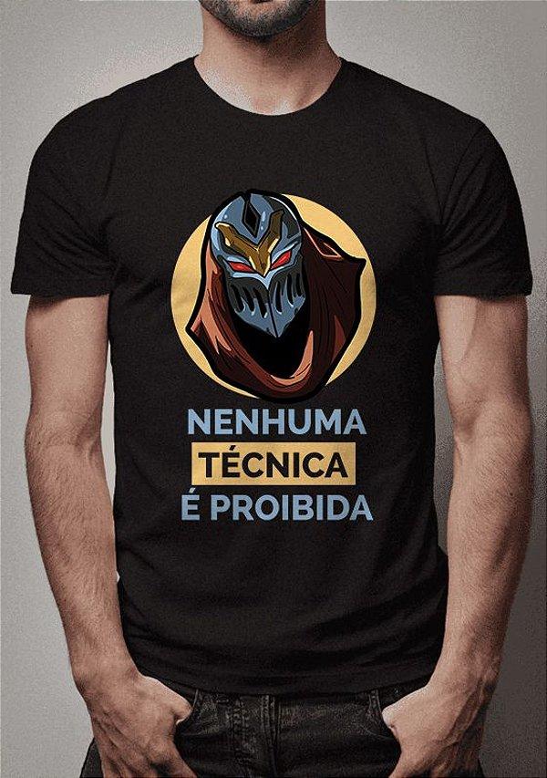 Camiseta Zed League of Legends