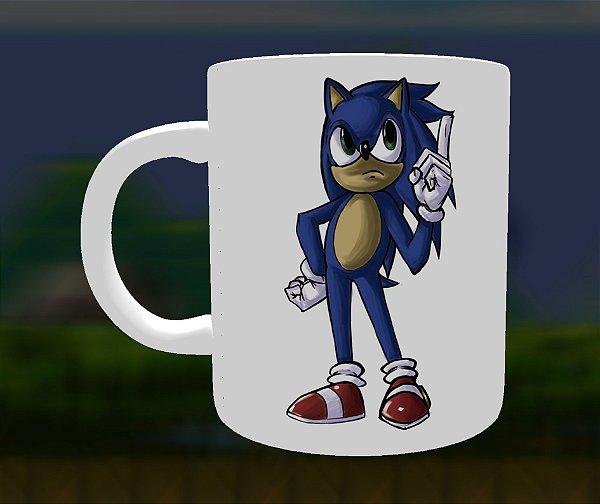 Caneca Meme Sonic