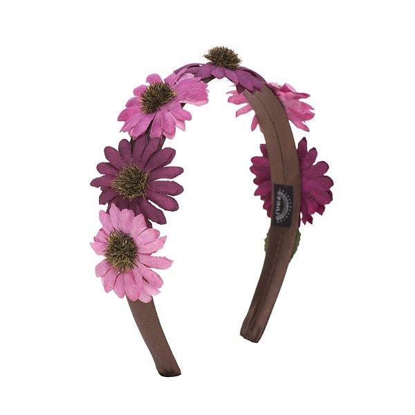 Tiara de Flor Purple Summer P
