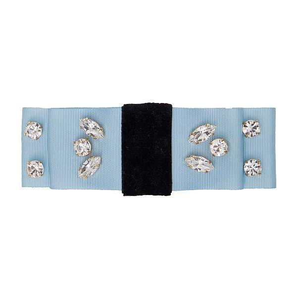 Fivela de Laço Knot Queen Azul
