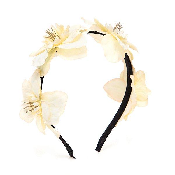 Tiara Heaven de Flores Brancas
