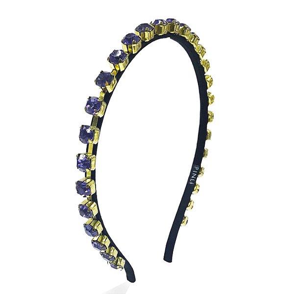 Tiara Precious Chain cor Lilás