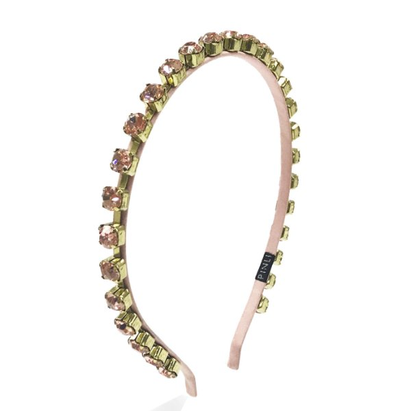 Tiara Precious Chain cor Rosa
