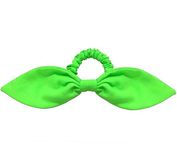 Elástico de Laço Fino de Neon Verde