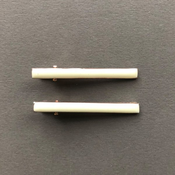 Presilha Fina cor Branca - (Dupla)