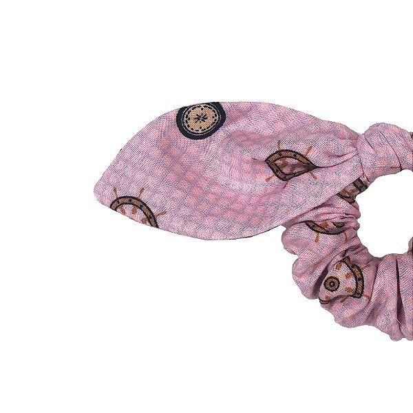 Elástico de Laço KIDS Rosa Leme