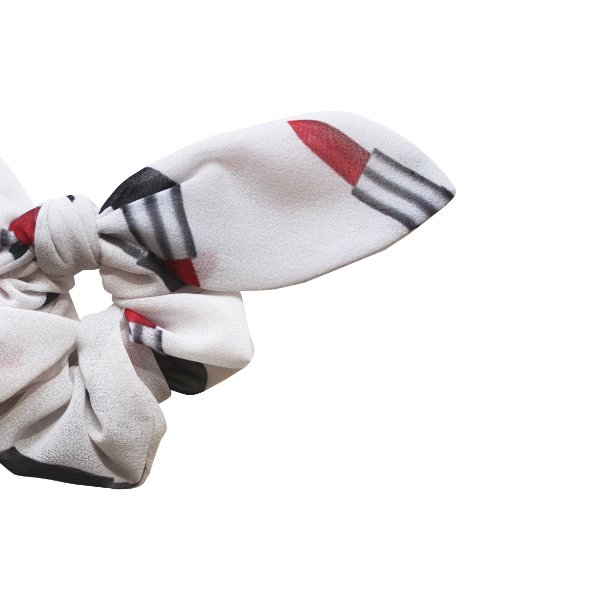 Elástico de Laço KIDS -  Branco Estampado