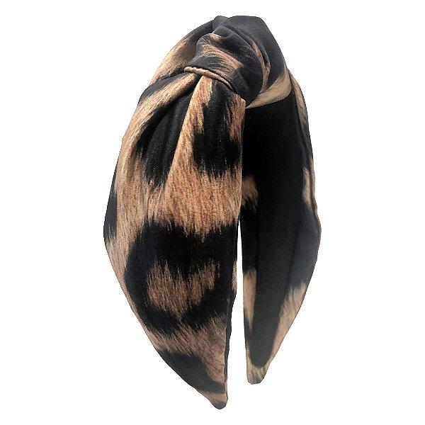 Turbante de Estampa Animal Print