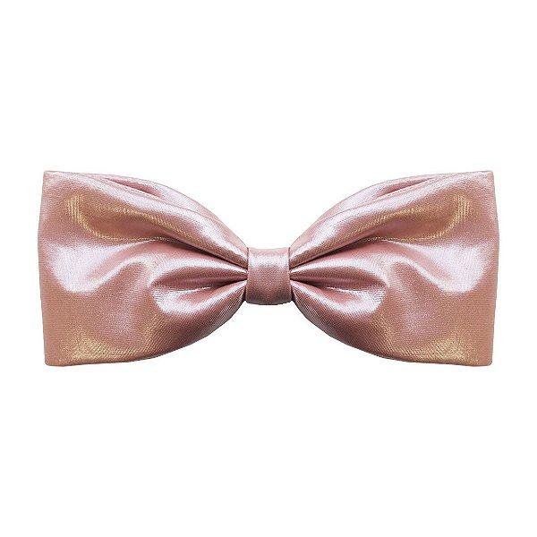 Fivela de Laço Rosa Claro Brilho