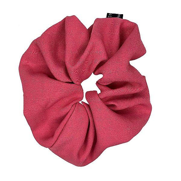 Elástico - Scrunchie de Crepe Rosé