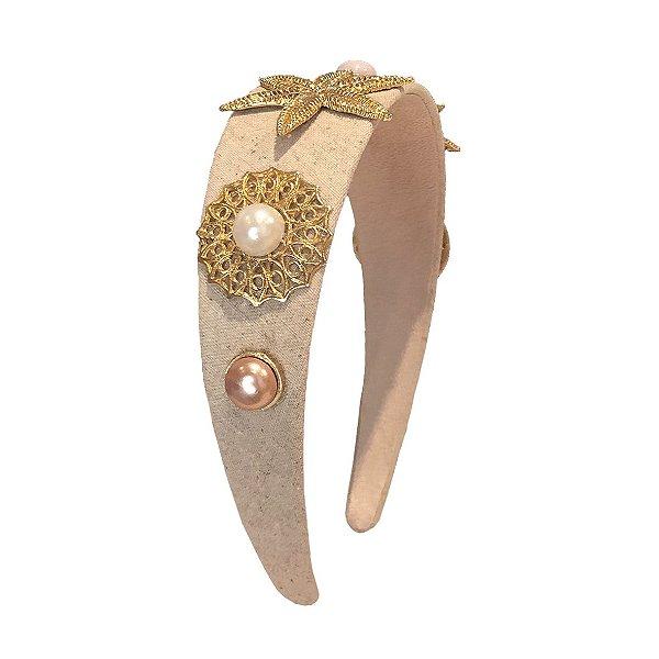 Tiara Golden Stars Vintage Style