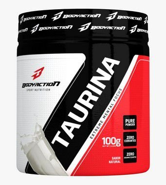 Taurina 100g Natural - Bodyaction