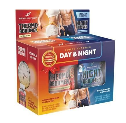 Kit Emagrecedor Abdomen - Day And Night - Bodyaction