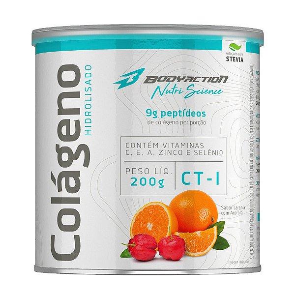 Colágeno Hidrolisado 200G Nutri Science - Bodyaction