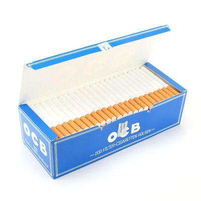 Tubo Para Cigarros OCB Blue - 200 unidades