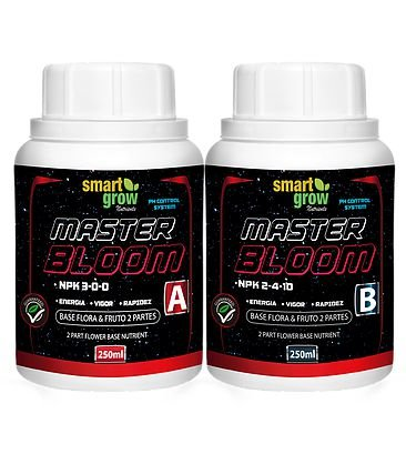 Smart Grow Master Bloom Nutriente Base Fertilizante Premium 250ml