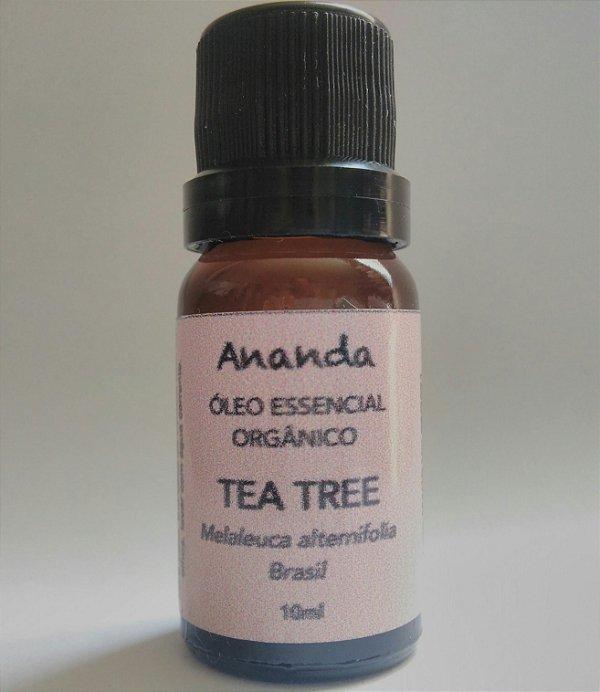 Óleo Essencial de Tea Tree Orgânico (Melaleuca) 10ml