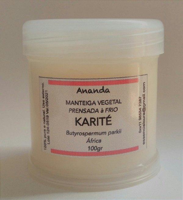 Manteiga Karite ou Tucumã pura 100gr