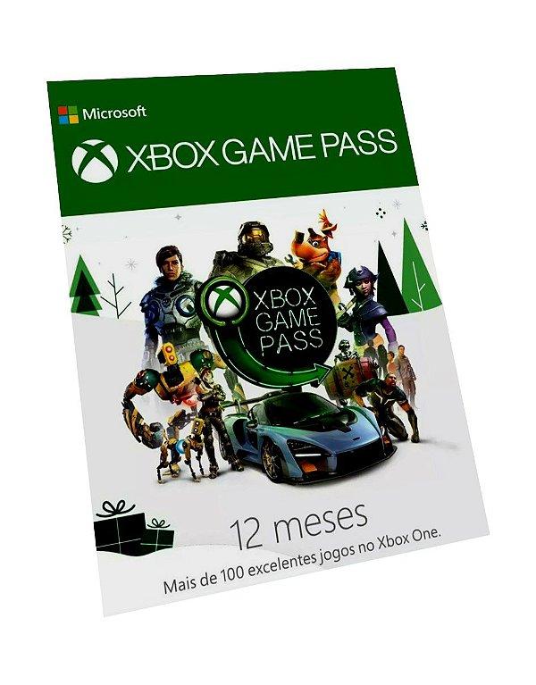 Xbox Game Pass 6 Meses