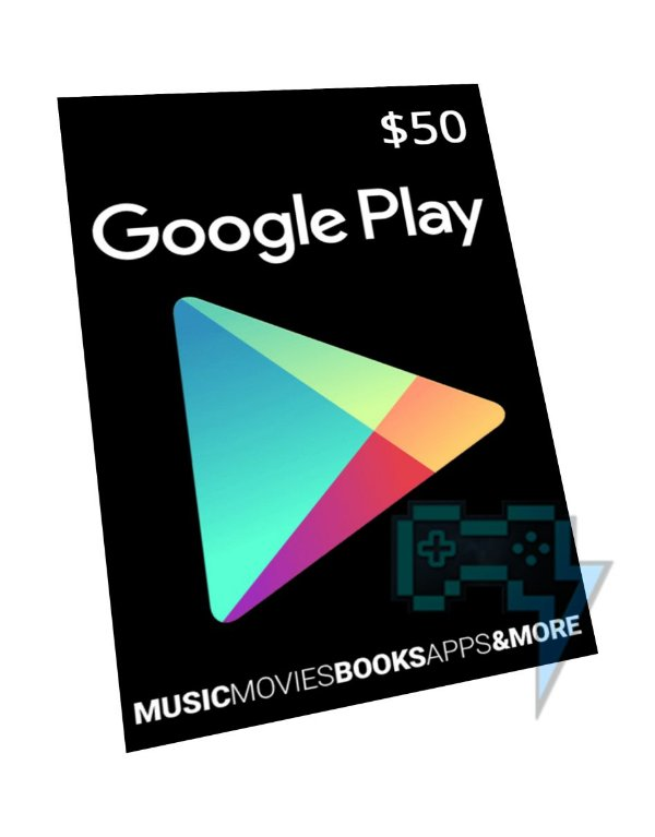 Vale-Presente Google Play R$ 40