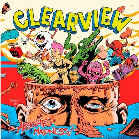"CLEARVIEW - ""Absolute Madness"" CD Digipack"