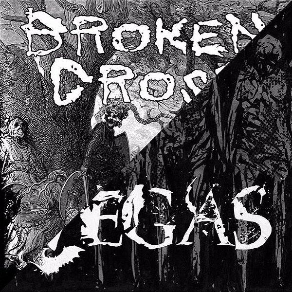 "BROKEN CROSS / VEGAS - Split 7"""