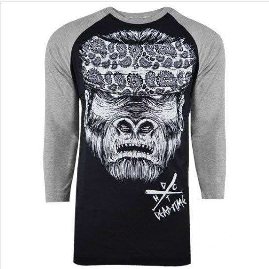 Camiseta Raglan (manga 3/4) - Gorila HC