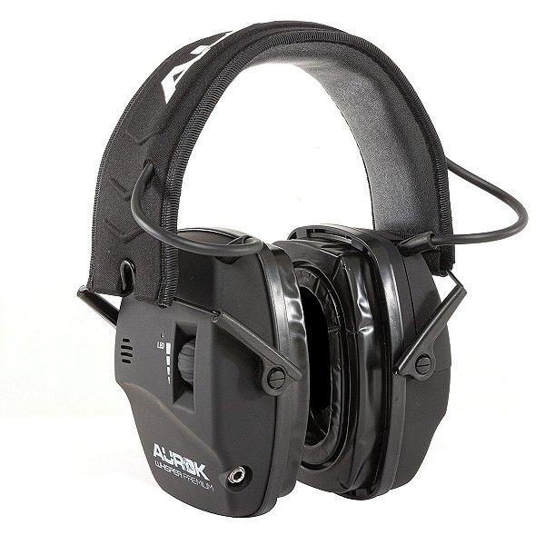 Abafador eletrônico Whisper premium preto - Aurok