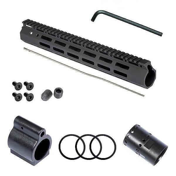 Kit Handguard MLOK T4, M4, M16 e AR-15 - Avb
