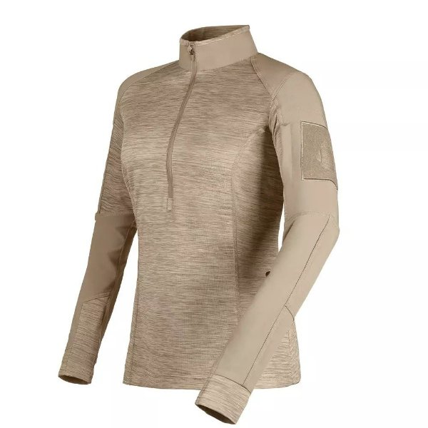 Combat Shirt Fem. Courage Invictus - Caqui Mojave