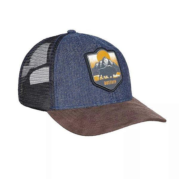 Boné Buffalo Utah - Invictus - Azul Denim