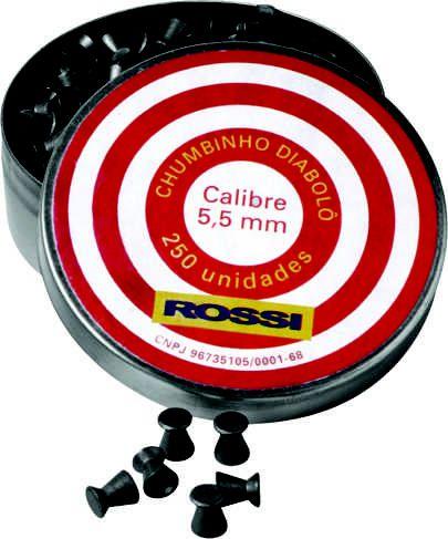 Chumbinho Rossi Diablo 5,5mm (250UN)