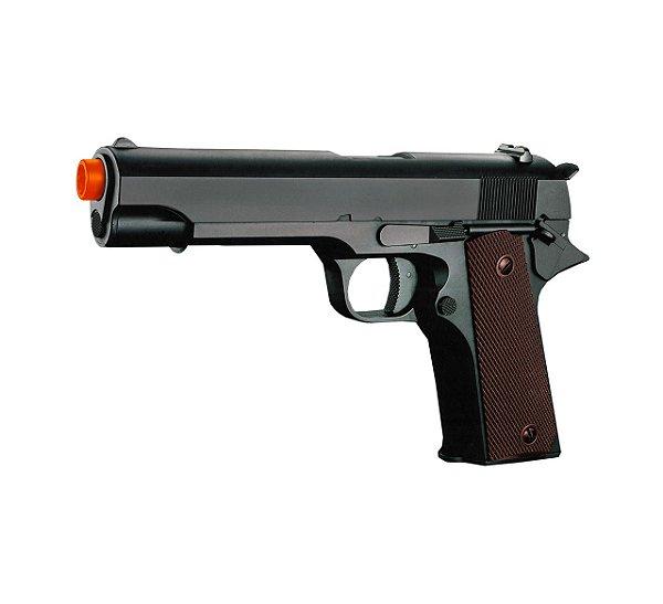 Pistola Airsoft Elétrica 1911 CM123 - Cyma