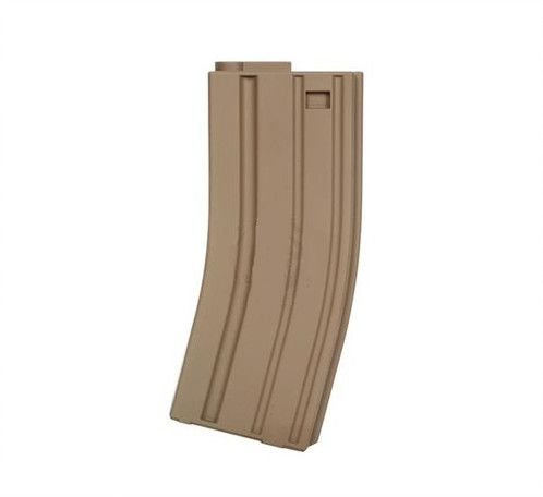 KING ARMS - MAGAZINE MIDCAP M4/M16 TAN - 120BBs