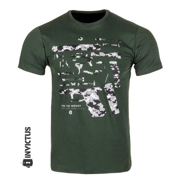 CAMISETA- INVICTUS - CONCEPT GLOCK PARTS