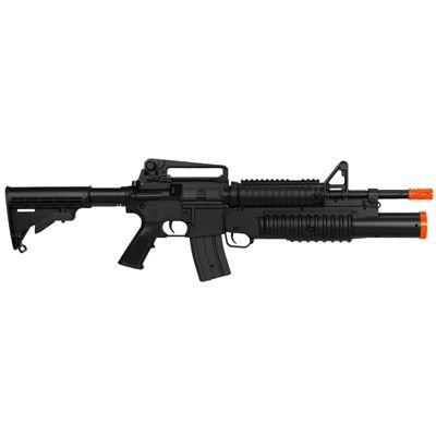 RIFLE M4 C/ LANÇADOR SHOTGUN -6MM
