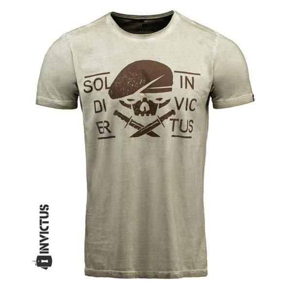 CAMISETA - INVICTUS - CONCEPT KS GREEN