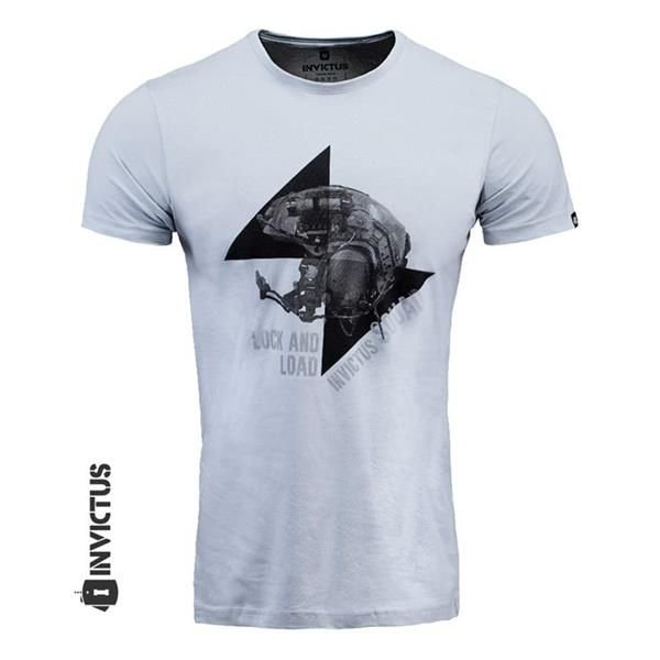 CAMISETA - INVICTUS - LOCK AND LOAD