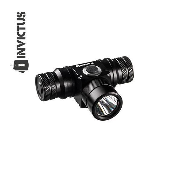 Lanterna de cabeça cave t6 280 lúmens - Invictus