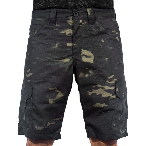 BERMUDA ECHO BRAVO MULTICAM BLACK