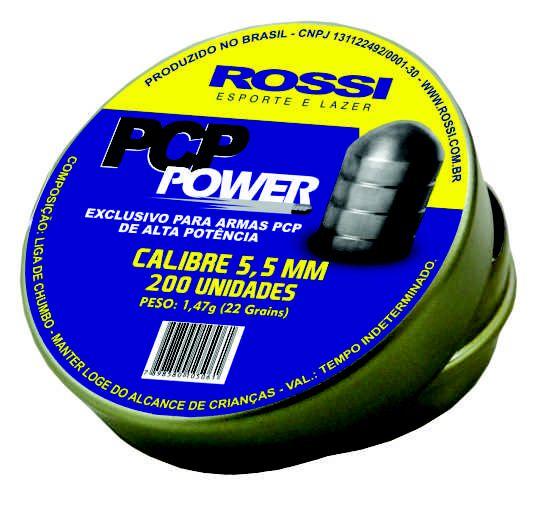 CHUMBINHO ROSSI PCP POWER 5,5MM (200 UN)