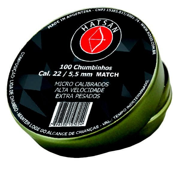 CHUMBINHO HATSAN MATCH 5,5MM (100UN)