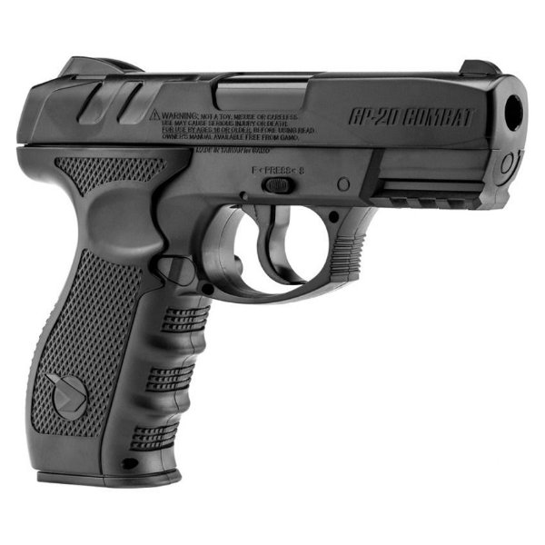 PISTOLA DE PRESSÃO CO2 GAMO GP-20 - 4,5MM