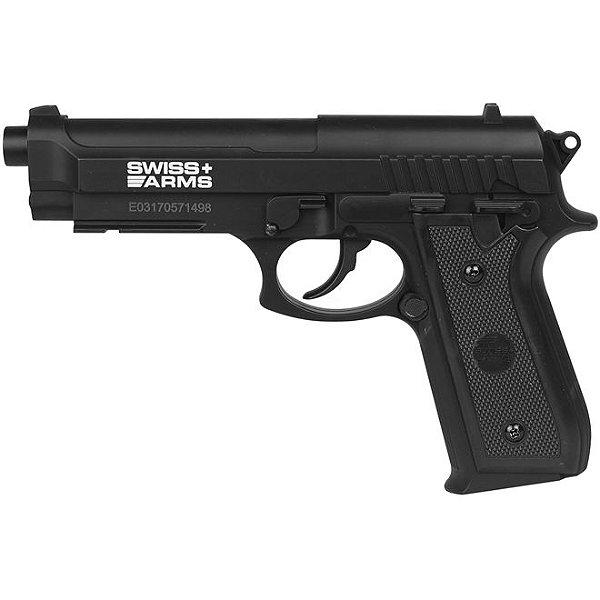 Pistola de Pressão CO2 PT92 Swiss Arms - 4,5mm