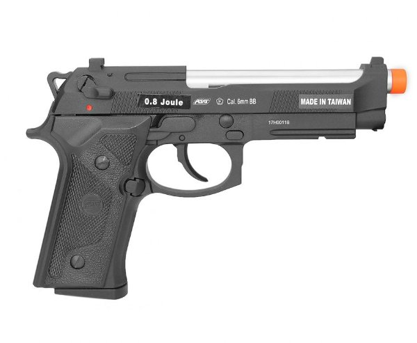 PISTOLA AIRSOFT GBB GREEN GÁS M9 A1 BLOWBACK - ASG