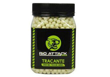 BBs Bio Attack Tracer - 0.20g - Pote com 2000 bolinhas