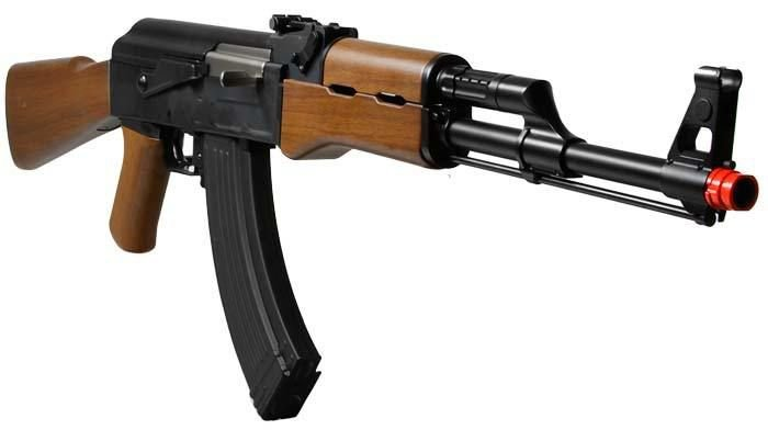 RIFLE AIRSOFT G&G - RK 47 - IMITATION WOOD