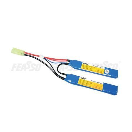 Bateria lipo ffb-021 7.4V 1300mAh 2S - 15C